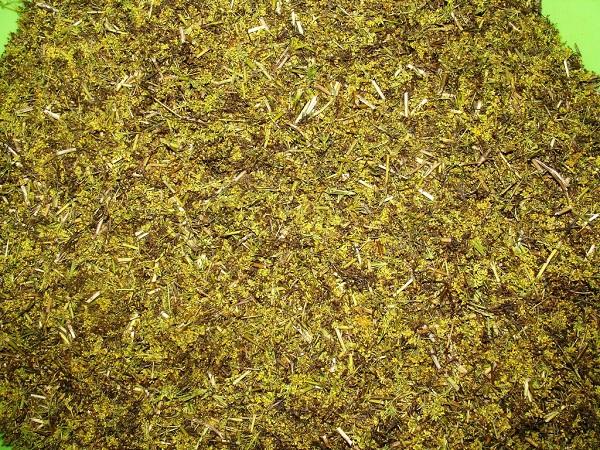 Готовая высушенная трава подмаренника